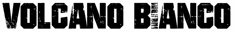 VOLCANO BIANCO_text logo