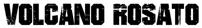 VOLCANO ROSATO_text logo