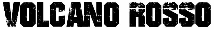 VOLCANO ROSSO_text logo