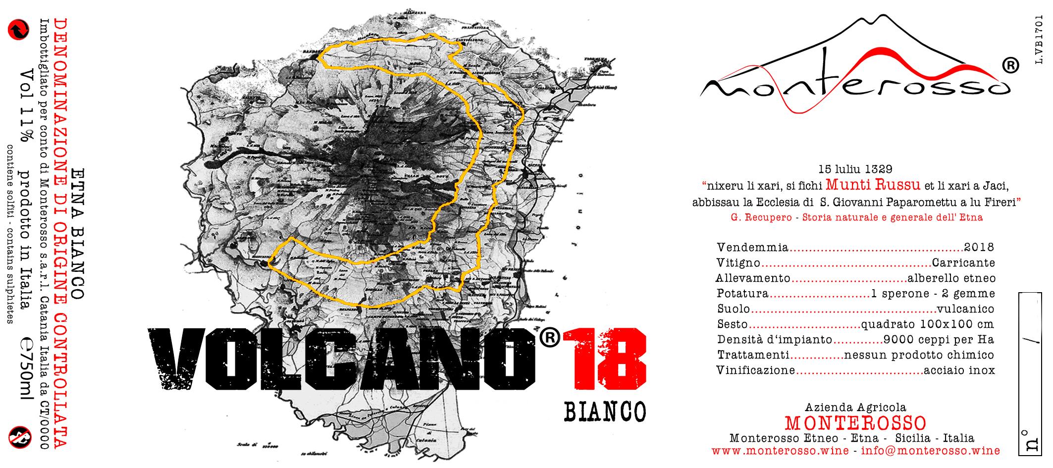 Volcano Bianco 18